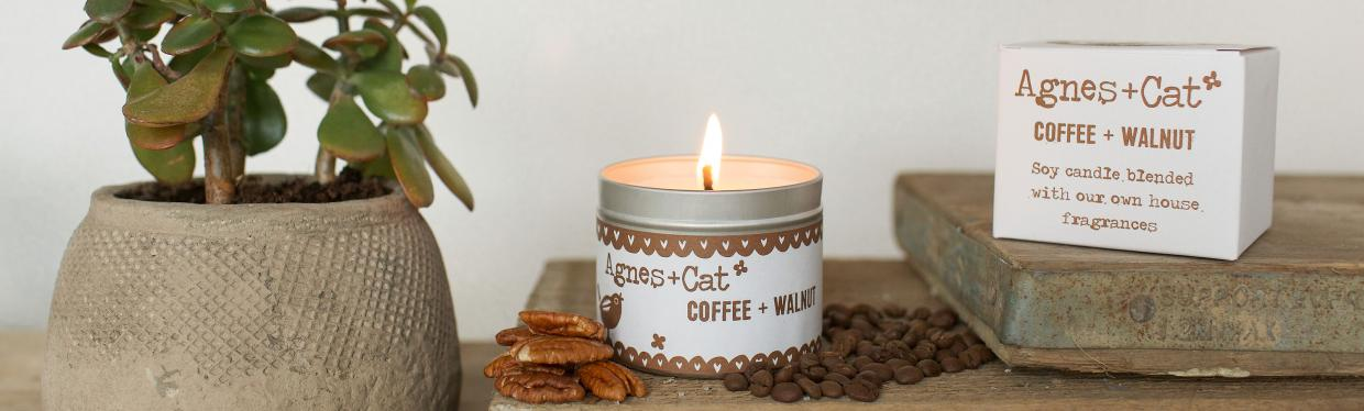 Tin candles - Agnes and Cat Wholesale