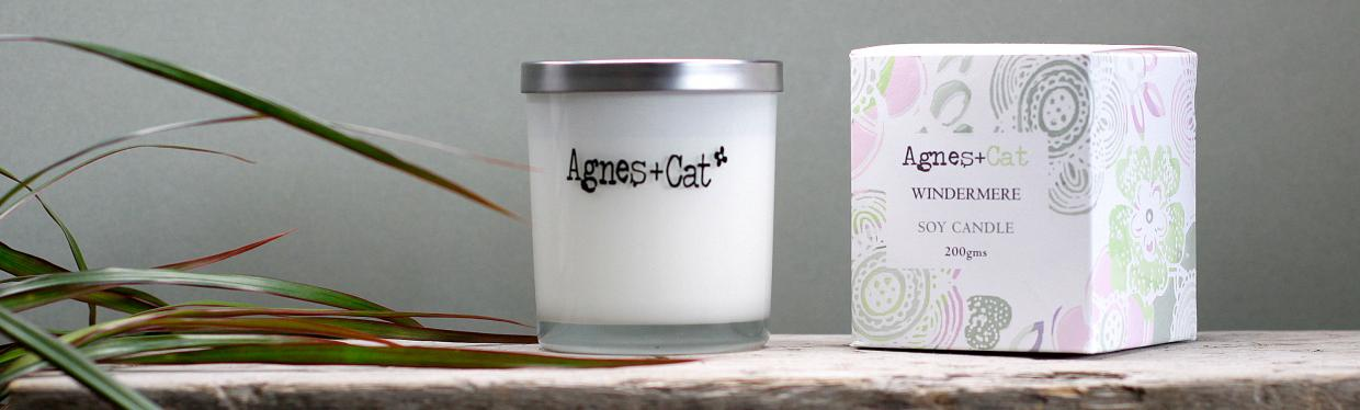 Glass Jar Candles 200ml - Agnes and Cat Wholesale